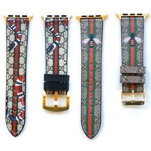 Bundle of 2 Designer Apple Watch Bands 1 2 3 4 5